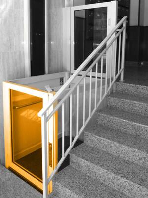 Instalación de elevadores salvaescaleras en Zaragoza