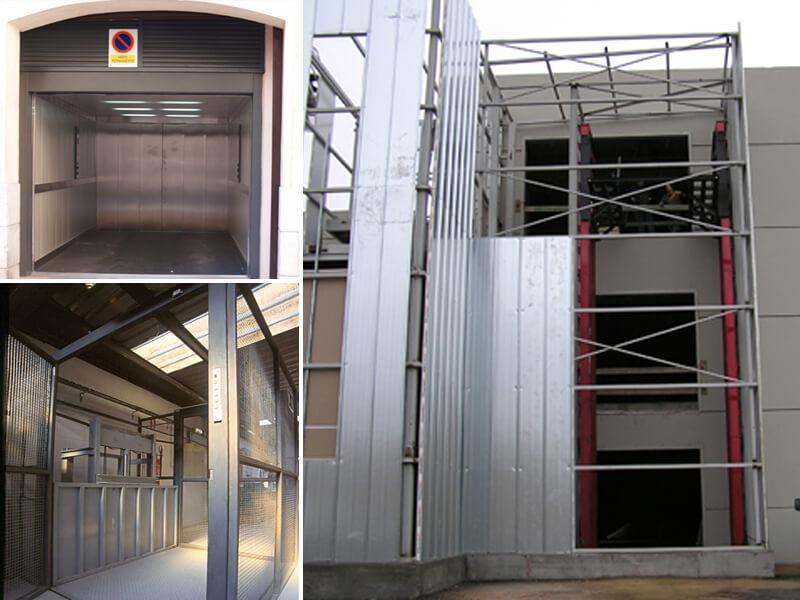 Ascensores elevadores carga