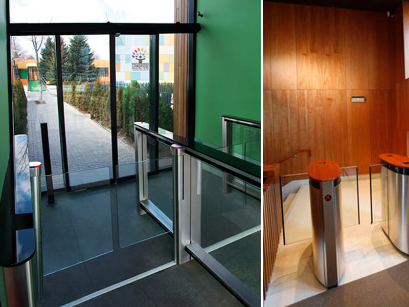Puertas automaticas control acceso