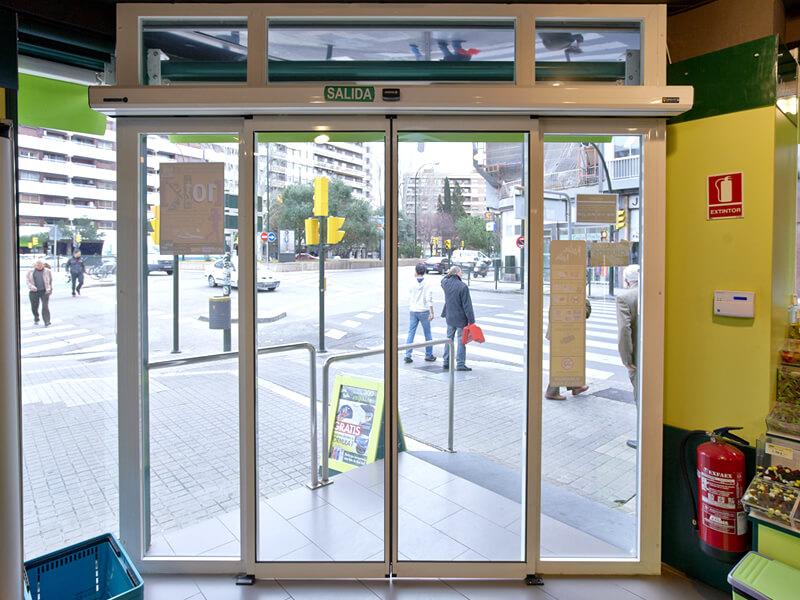 Puertas automaticas corredoreras exterior