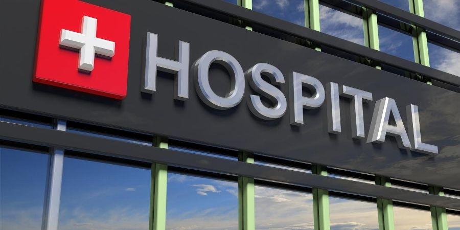 puerta hospital