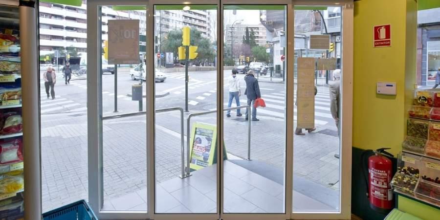 puertas automáticas comercios