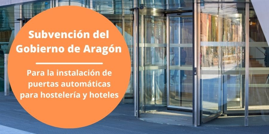 Subvención del Gobierno de Aragón (1)